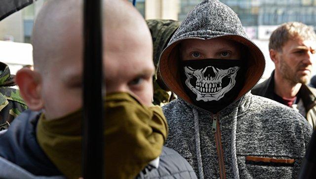 Радикалы в Киеве. Архивное фото