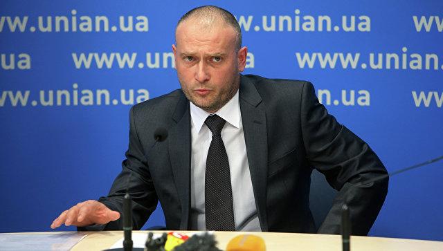 Экс-лидер Правого сектора Дмитрий Ярош. Архивное фото