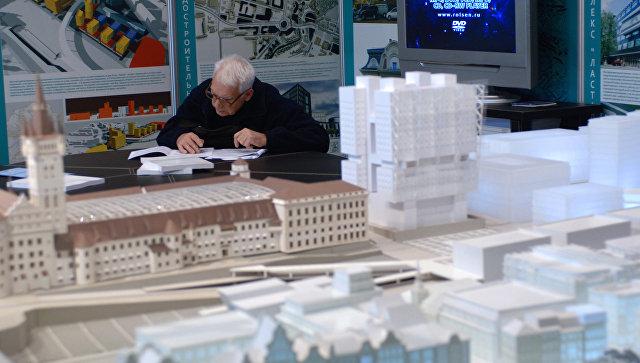 Архитектурный фестиваль, архитектура, макет