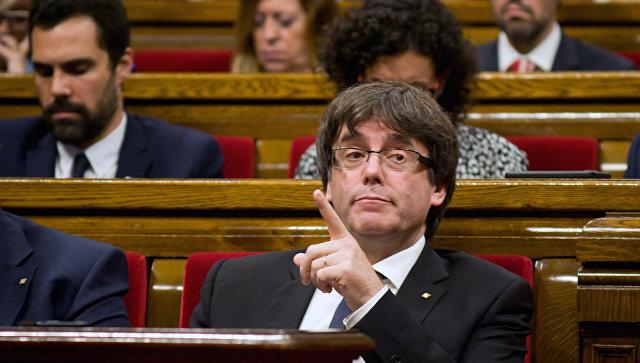 Лидер Каталонии обвинил короля Испании вподдержке агрессивной политики