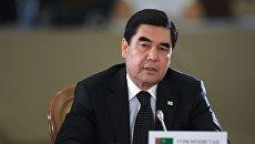 Президент Туркмении, председатель кабинета министров Туркмении Гурбангулы Бердымухамедов. Архивное фото