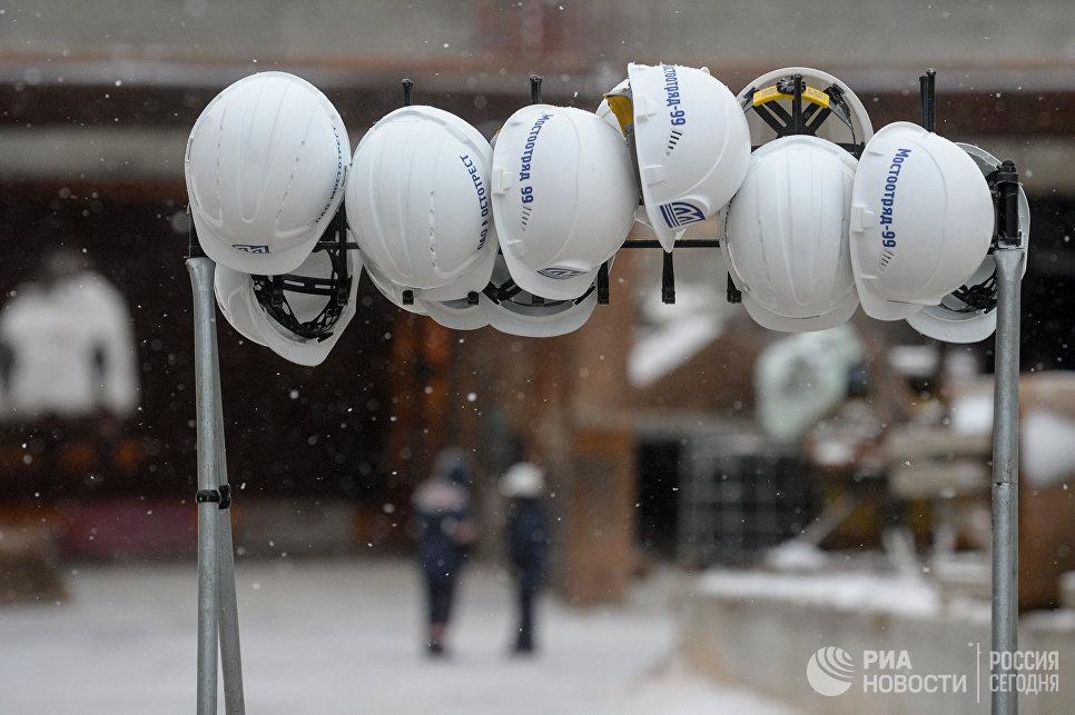 Строительство Южного участка Северо-Западной хорды Москвы