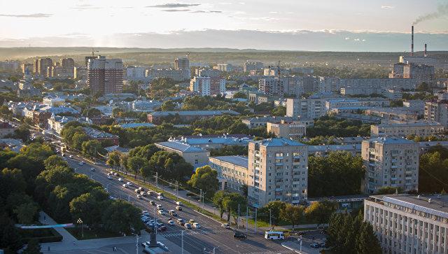Вид на город Благовещенск. Архивное фото
