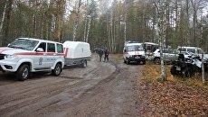 Поиск пропавшего мальчика в лесу в Нижегородской области. 15 октября 2017