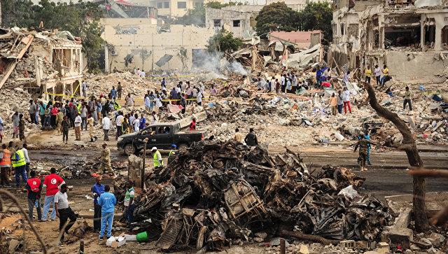 Число жертв теракта в Сомали увеличилось до 276