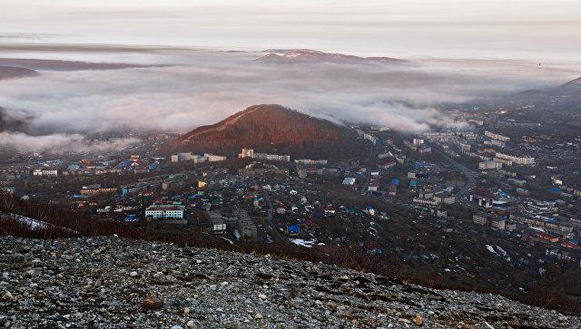 Виды России. Камчатка. Архивное фото