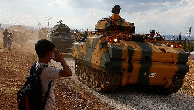 Новости с турецко-сирийской границы