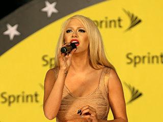 Бывшая вокалистка американской музыкальной группы Pussycat Dolls Кайя Джонс. Архивное фото