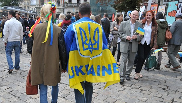 На улице Львова, Украина