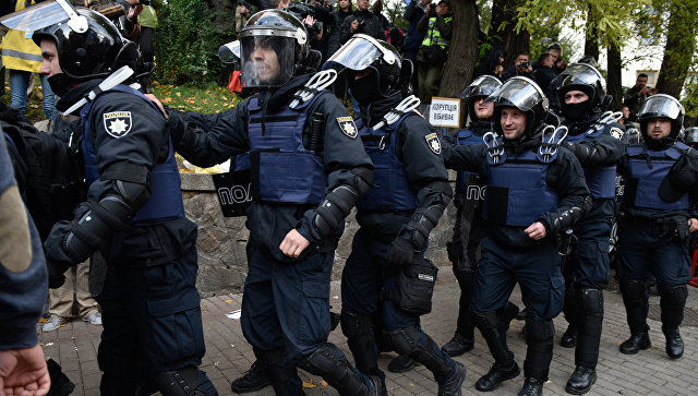 Полиция отпустила трех из 11 задержанных в ходе столкновений у Рады в Киеве