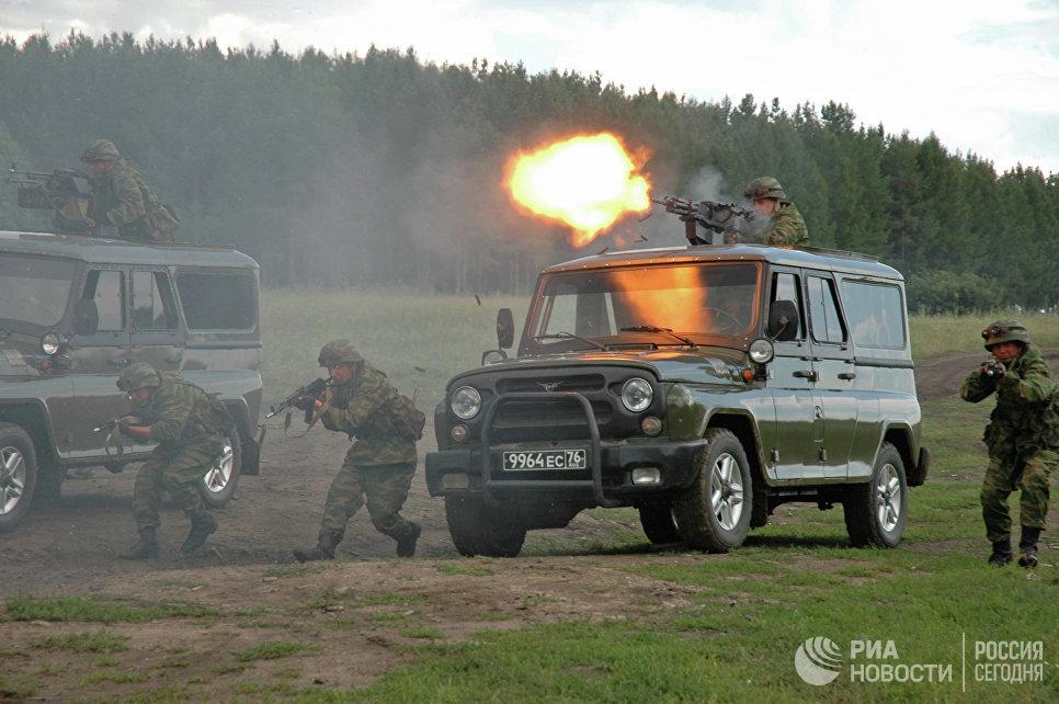 Спецназ Министерства обороны РФ. Полигон Чебаркуль