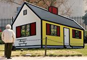 Дом I, Сад Скульптур Национальной галереи искусства в Вашингтоне