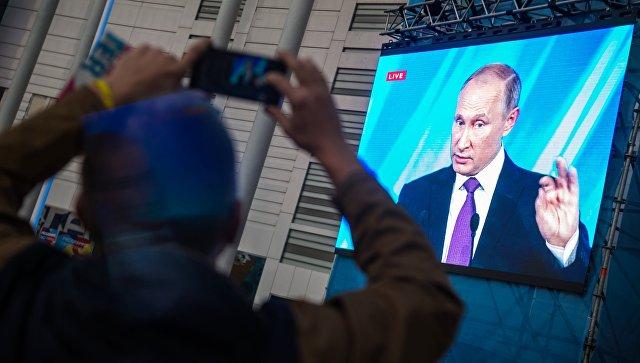 ФОМ подчеркнул снижение уровня согласия работы В. Путина