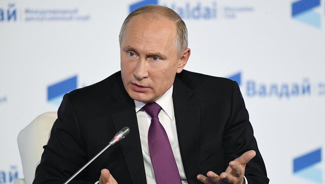 Путин обвинил Европу в кризисе на Украине, из-за поддержки захвата власти