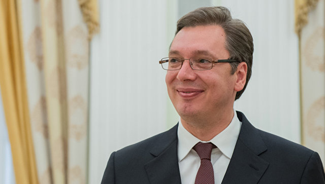 Александр Вучич. архивное фото