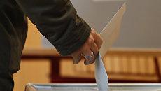 Выборы в Чехии. Архивное фото