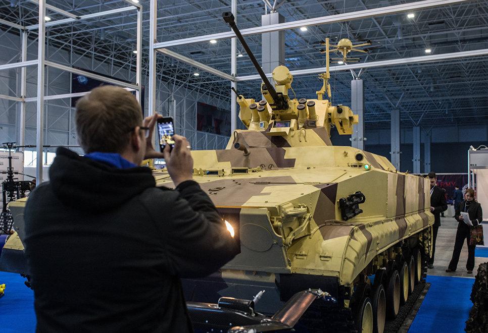 Мощнейших русских военных роботов назвали вСША