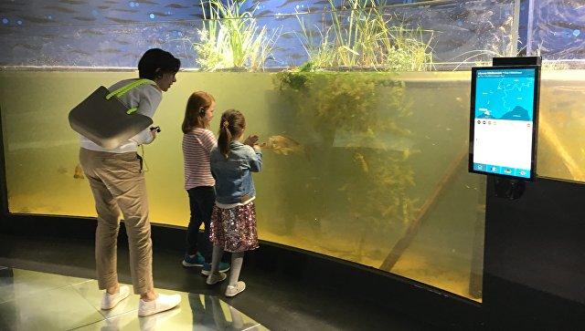 В Швейцарии открылся крупнейший в мире аквариум с пресной водой