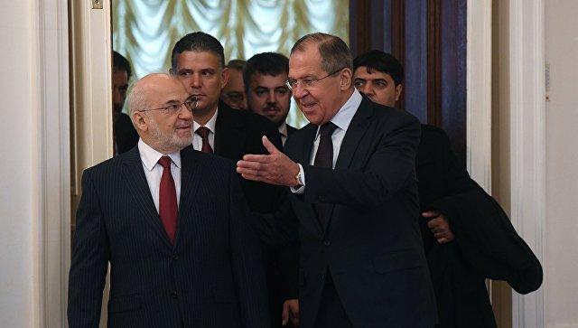 МИД Ирака проведёт переговоры сЛавровым в российской столице