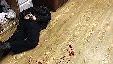 Нападение на ведущую Татьяну Фельгенгауэр в редакции Эхо Москвы. 23 октября 2017