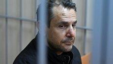 Подозреваемый в нападении на журналистку Эха Москвы Татьяну Фельгенгауэр Борис Гриц. Архивное фото