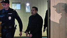Подозреваемый в нападении на журналистку Эха Москвы. Архивное фото