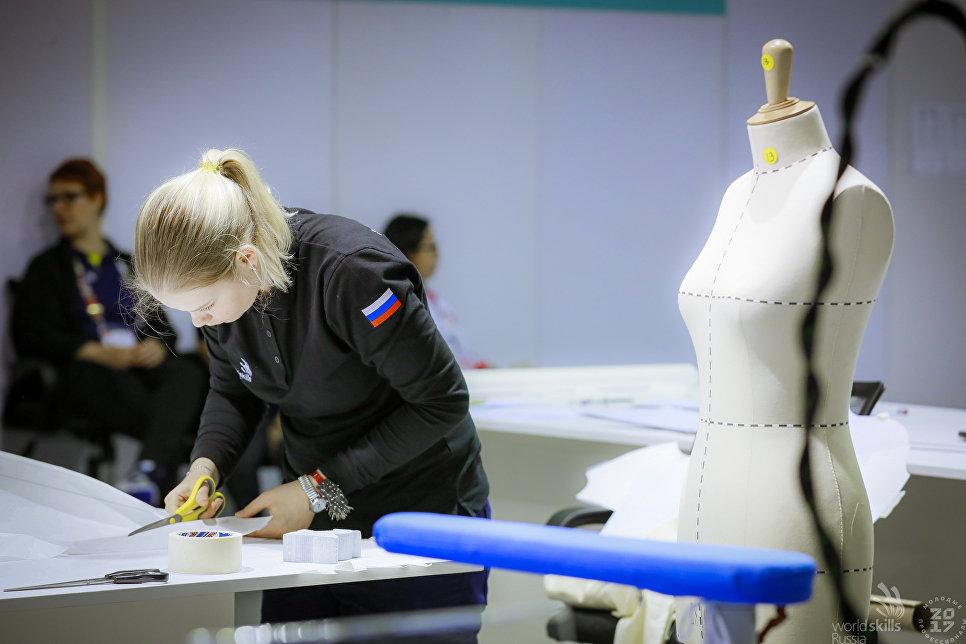 Соревнования в компетенции Технологии моды