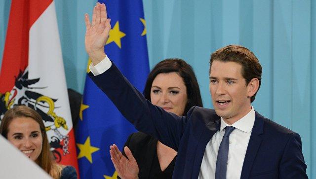 Консерваторы и правые в Австрии заявили о формировании коалиции