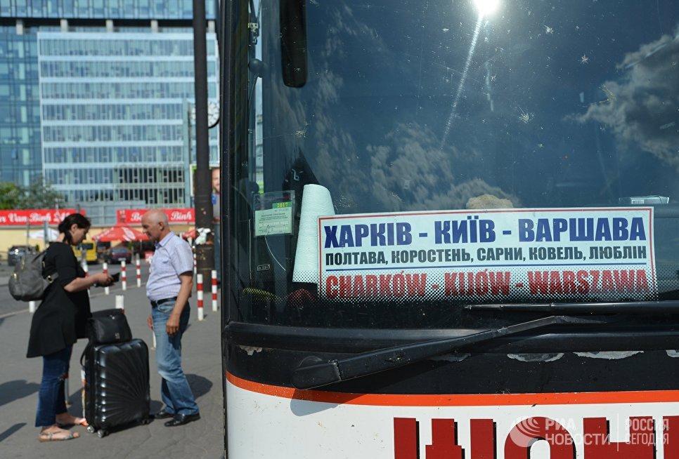 Киев прокомментировал объявление Польши ограничить заезд украинцев в«формеСС»