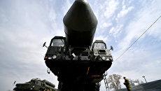 Подготовка военной техники, участвующей в Параде Победы. Архивное фото