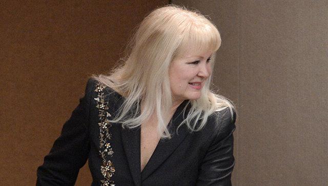 Председатель политической партии Женский Диалог Елена Семерикова. Архивное фото