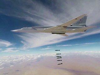 Авиаудары бомбардировщиками Ту-22М3 ВКС РФ. Архивное фото