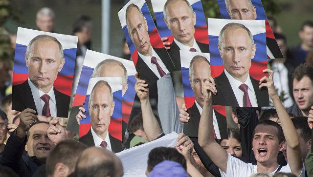 Путин объявил обучастии ввыборах президента Российской Федерации в предстоящем году