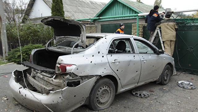 Бастрыкин поручил возбудить дело пофактам обстрелов Донецка изРСЗО «Град»