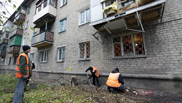 ВСУ открыли минометный огонь по пригороду Донецка, сообщили в СЦКК