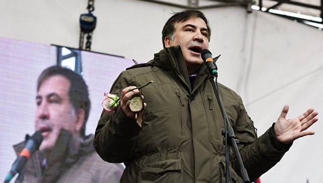 Саакашвили пообещал начать процесс «народного импичмента» Порошенко