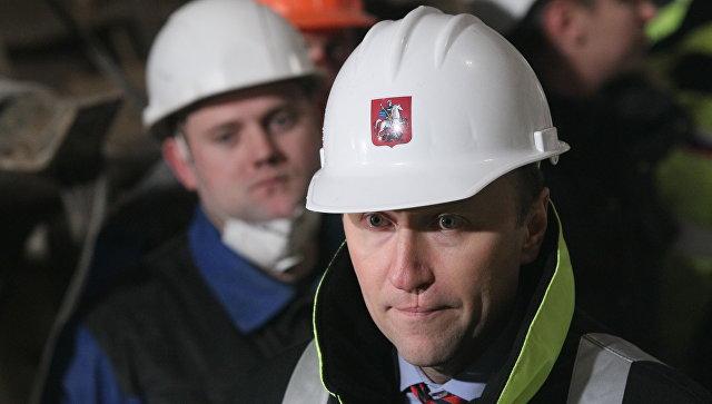 Руководитель Департамента строительства города Москвы Андрей Бочкарев