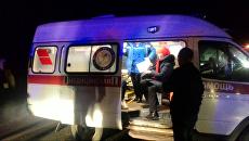 Медицинская помощь на месте ДТП в Ростовском районе Ярославской области. 8 ноября 2017
