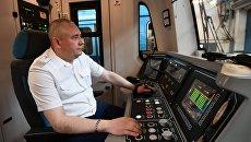Машинист в метро