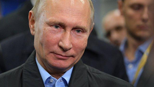 Владимир Путин. 9 ноября 2017