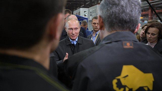 Путин предсказывает инфляцию науровне 2,5-2,7%