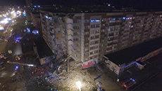 Момент взрыва и последствия обрушения жилого дома в Ижевске