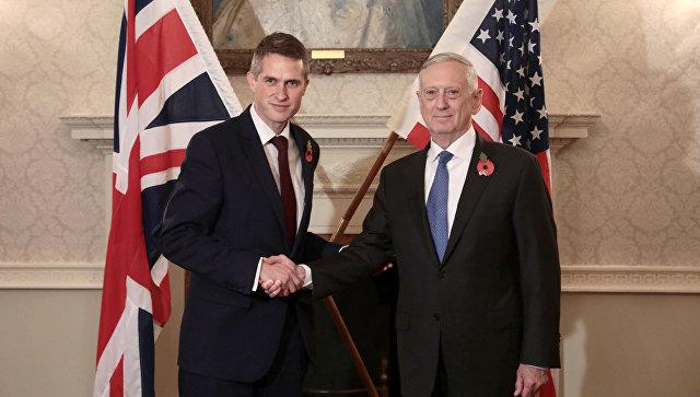 Руководителя Минобороны США и Великобритании обсудили противоборство Российской Федерации