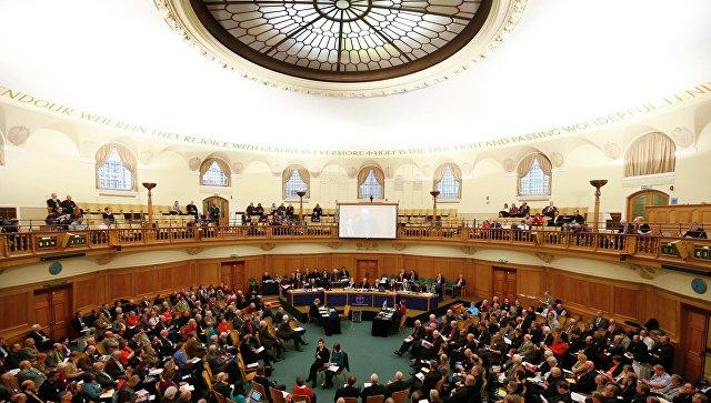 Генеральный Синод Церкви Англии. Фото с места события
