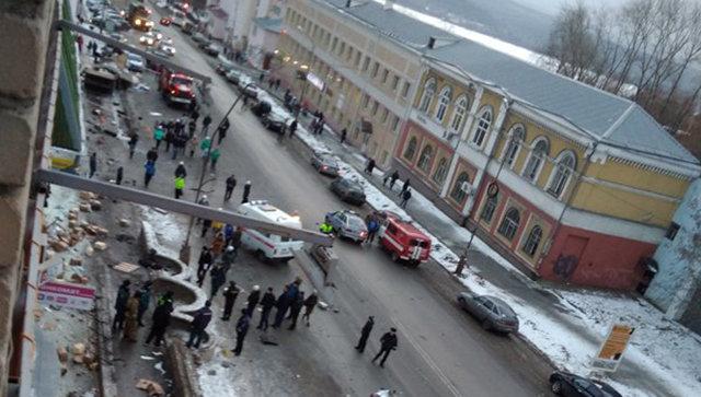 ДТП в городе Златоусте Челябинской области. 15 ноября 2017