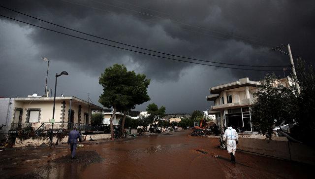 Все школы в греческой Аттике закрыты из-за непогоды