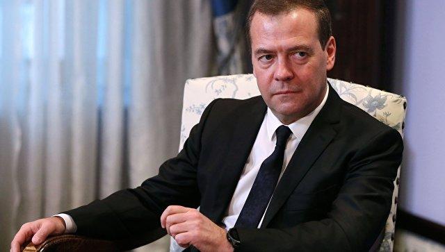 Медведев обсудит с ЕР реализацию предвыборной программы партии за год