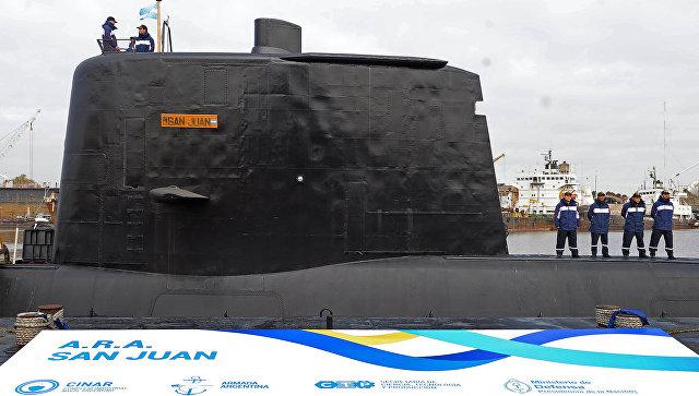 Аргентинская подводная лодка Сан Хуан