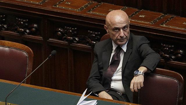 Министр внутренних дел Италии Марко Миннити. Архивное фото