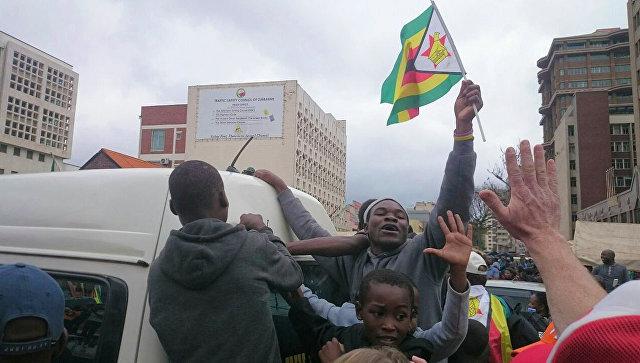 Правящая партия Зимбабве выдвинула Мнангагву кандидатом на пост президента